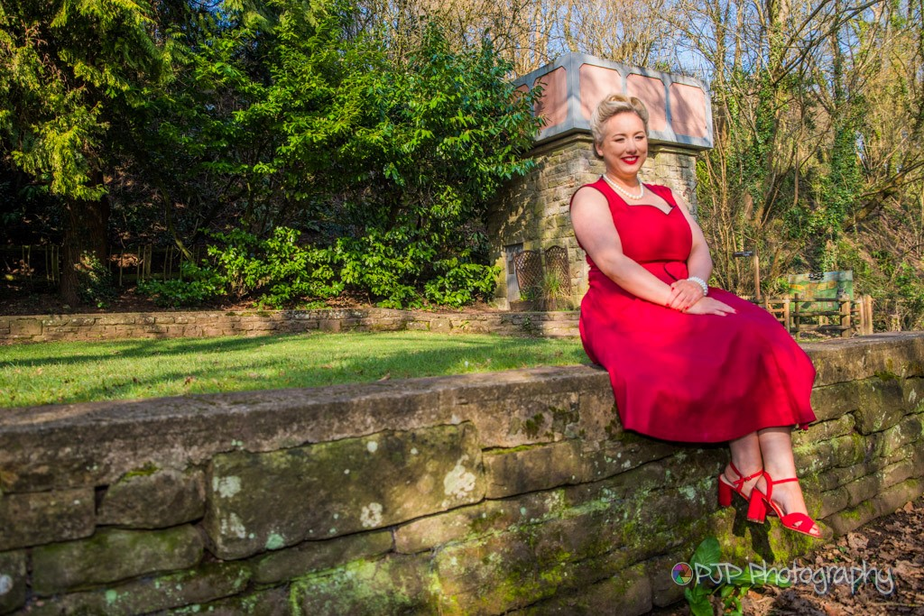 Vintage Theme with Pageant Ladies